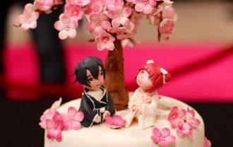 桜の時期に飲みコン